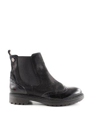 Café Noir Chelsea Boots schwarz Casual-Look