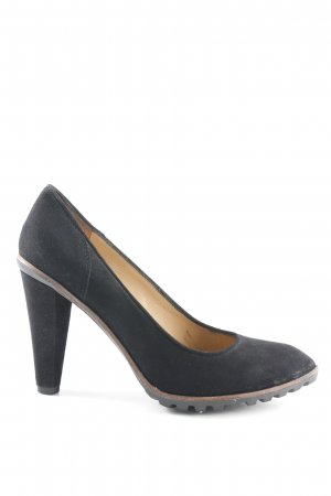 Café Noir High Heels schwarz Business-Look