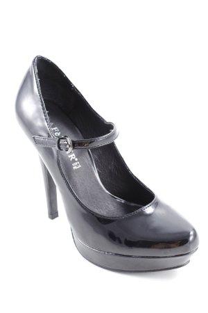 Café Noir High Heels schwarz Elegant