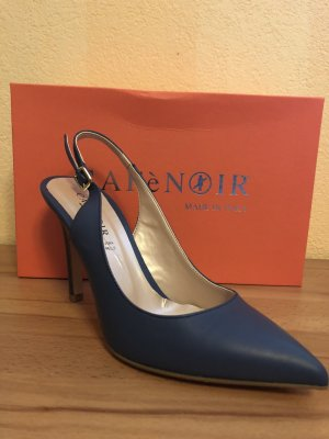 Café Noir Pumps in Jeansblau
