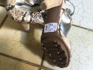 Cafe Noir, Schuhe Sandalen,Python Muster, Gr 41 Neu gebraucht kaufen  Wird an jeden Ort in Deutschland