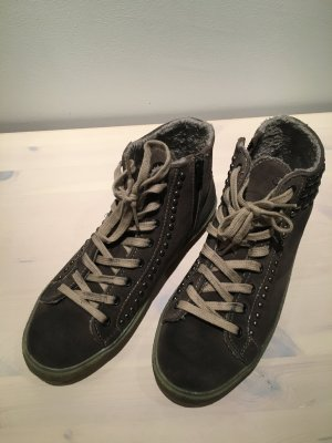 Café Noir Sneakers High Top Winter, Gr. 40, khaki, wie NEU