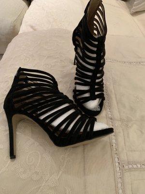 Cafènoir High  Heel Sandaletten mit Zipp hinten gr 40