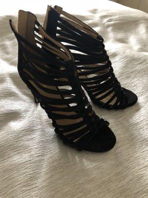 Cafènoir High-Heeled Sandals black