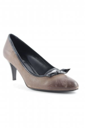 Cafènoir Spitz-Pumps braun Business-Look