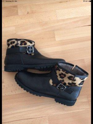 Caiman Low boot noir-beige