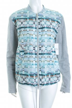Cakes and Kisses Sweatjacke abstraktes Muster sportlicher Stil