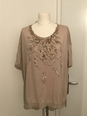Cakes and Kisses Camisa tejida nude-beige Seda