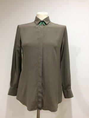 CALIBAN Bluse 100% Seide Coole Farbe Elegant!!!