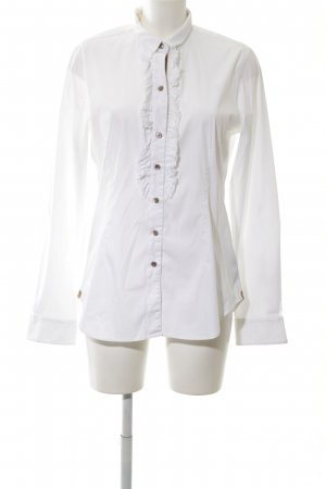 Caliban Hemd-Bluse weiß Elegant
