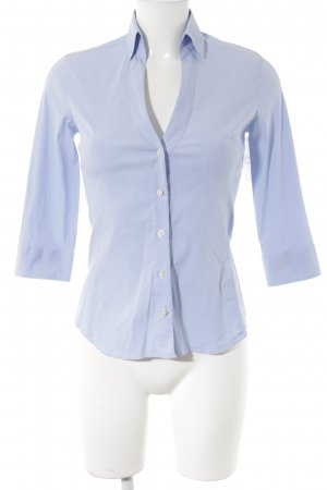 Caliban Hemd-Bluse himmelblau Business-Look