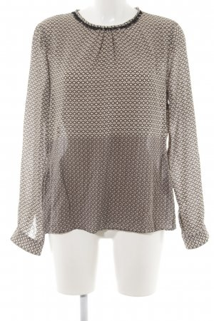 Caliban Long Sleeve Blouse abstract pattern casual look