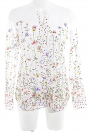 Caliban Langarm-Bluse florales Muster Casual-Look