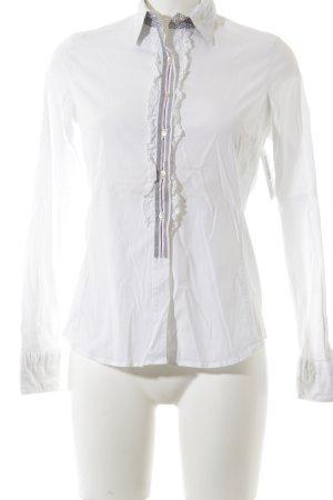 Caliban Langarm-Bluse mehrfarbig Elegant
