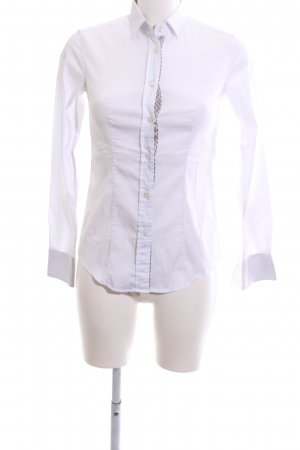 Caliban Long Sleeve Shirt white business style