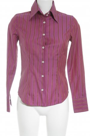 Caliban Long Sleeve Shirt striped pattern business style