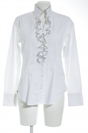 Caliban Long Sleeve Shirt white casual look