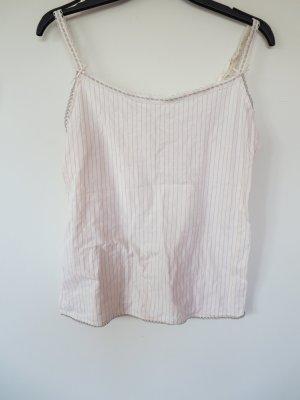 Negligé rosa claro-marrón grisáceo tejido mezclado
