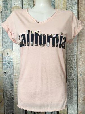 Print Shirt pink-dusky pink