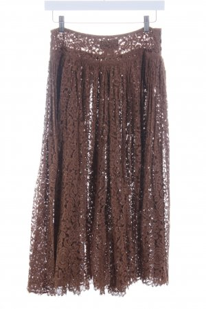 Callaghan Lace Skirt brown street-fashion look
