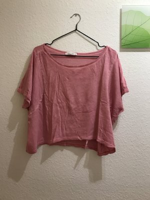 Calliope cropped top pink S 36 rosa