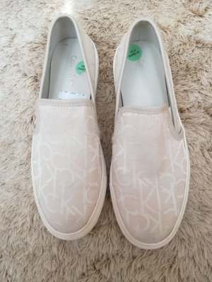 Calvin Klein Slippers cream