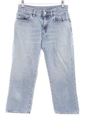 Calvin Klein 3/4 Jeans hellblau Used-Optik