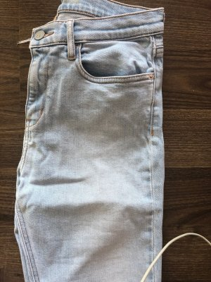 Calvin Klein High Waist Jeans light blue