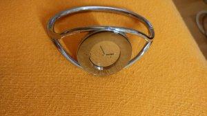 Calvin Klein Reloj con pulsera metálica color plata