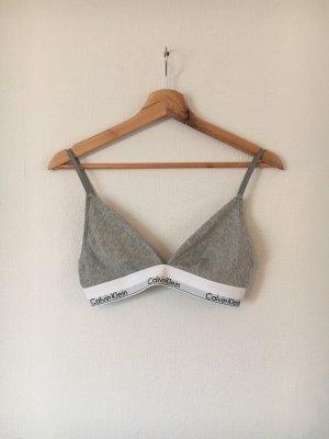 Calvin Klein Soutien-gorge blanc-gris clair