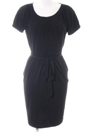 Calvin Klein A-Linien Kleid schwarz Business-Look