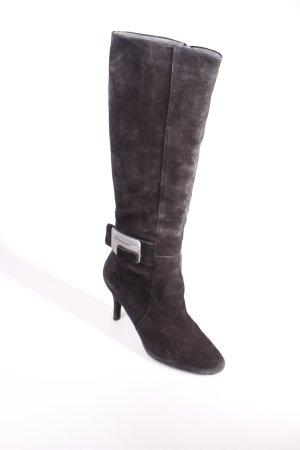 Calvin Klein Absatz Stiefel schwarz Street-Fashion-Look