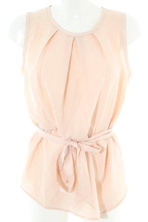 Calvin Klein ärmellose Bluse creme Business-Look