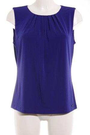 Calvin Klein ärmellose Bluse blau Casual-Look