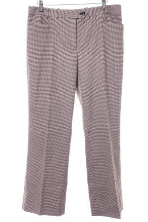 Calvin Klein Pantalon de costume beige-brun noir motif pied-de-poule