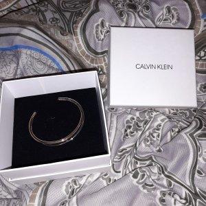 Calvin Klein Bangle zilver-roségoud