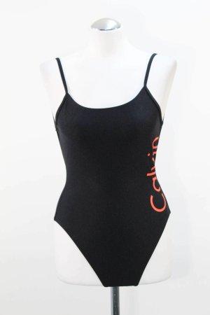 Calvin Klein Traje de baño negro poliamida