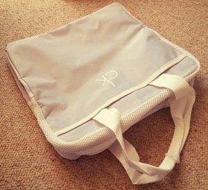 Calvin Klein Bag, weiß grau mit CK-Logo, Tragetasche Sporttasche Reisetasche,NEU