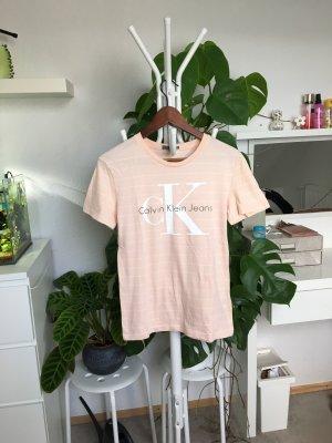 Calvin Klein Basic Tshirt S/36 Neu Gestreift