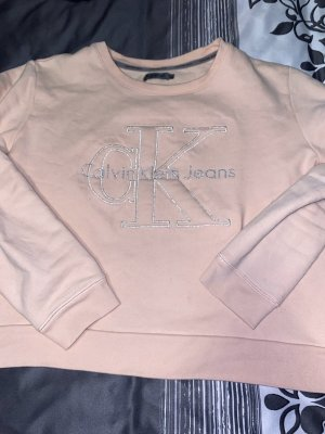 Calvin Klein Crewneck Sweater light pink