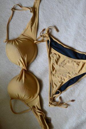 Calvin Klein Bikini gold Gr. S