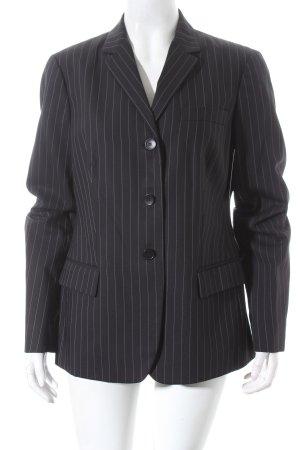 Calvin Klein Blazer schwarz-weiß Nadelstreifen Business-Look