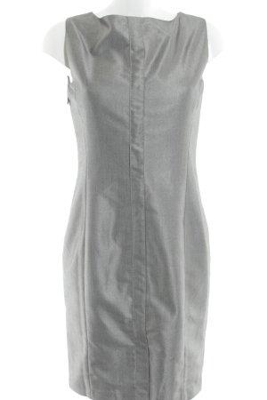 Calvin Klein Kokerjurk zilver-grijs zakelijke stijl