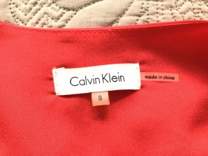 Calvin Klein Oversized Blouse red-brick red