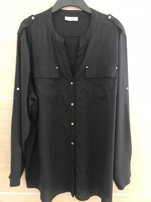 Calvin Klein Bluse schwarz, Gr. XXL/48-50