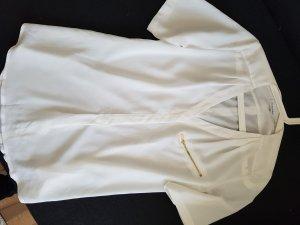 Calvin Klein Bluse; weiß glänzend