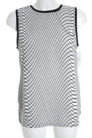 Calvin Klein Blusentop hellbeige-schwarz Elegant