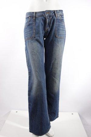 Calvin Klein Boot Cut Jeans blau
