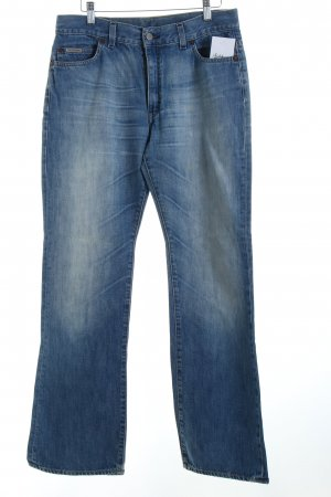 Calvin Klein Boot Cut Jeans blau Casual-Look