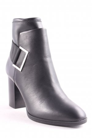 "Calvin Klein Booties ""Ettore Ankle Boot Leather Black "" schwarz"